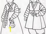 Korean Hanbok Coloring Pages 9 Best south Korea Images On Pinterest