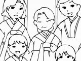 Korean Hanbok Coloring Pages Korean New Year Coloring Pages Pinterest