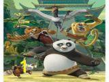 Kung Fu Panda Wall Mural Po Kung Fu Panda