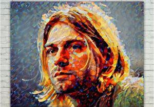 Kurt Cobain Wall Mural Kurt Cobain Kurt Cobain Posterkurt Cobain West Artkurt