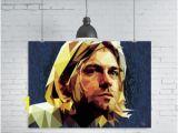 Kurt Cobain Wall Mural Kurt Cobain Lyrics