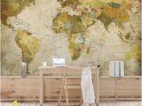 La Feature Wall Murals Vliestapete Weltkarte Fototapete Breit Ebay