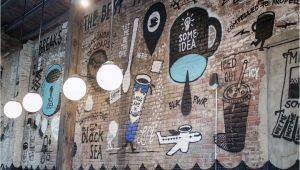 La La Land Wall Mural Early Look Inside La Colombe