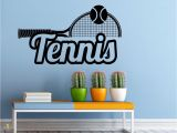 Lacrosse Wall Mural Tennis Wall Decal Wall Vinyl Sticker Racquet Sport Game Interior