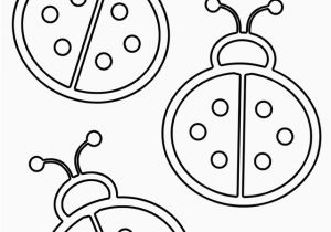Lady Bug Coloring Pages Ladybug Coloring Page 13 S Fly Coloring Page