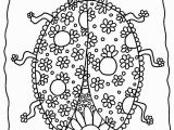 Ladybug Coloring Pages for Preschoolers Coloring Archives Coloring Slpash