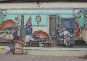 Lake Placid Murals A Mural Depicting the Medical Munity Picture Of Lake Placid
