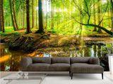 Lake Scene Wall Mural Vlies Fototapete Tapete Xxl Wandbilder Wald Natur Landschaft