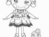 Lalaloopsy Jewel Sparkle Coloring Pages Lala Loopsy Coloring Pages