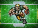 Lambeau Field Wall Mural Football Field Fathead Pumped Packer by Superman8193 On
