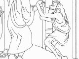 Lame Man Healed Coloring Page Coloring Page Peter and John Heal Lame Man