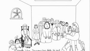 Lame Man Healed Coloring Page Coloring Pages Peter and John Heal A Lame Man
