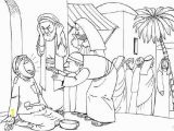 Lame Man Healed Coloring Page Peter and John at the Temple Coloring Page