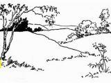 Landscape Coloring Pages for Adults Landscape Coloring Page Coloring Pages