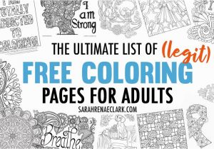 Landscape Coloring Pages for Adults to Print the Ultimate List Of Legit Free Coloring Pages for Adults