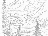 Landscape Coloring Pages for Adults to Print Woods Landscape Coloring Pages Google Search