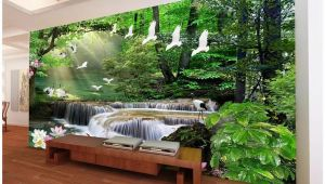 Landscape Wall Murals Wallpaper 3d Wallpaper Custom 3d Wall Murals Wallpaper Dream Mori Waters Landscape Painting Living Room Tv Background Wall Papel De Parede Wallpaper High