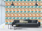 Large Adhesive Wall Murals Amazon Wall Mural Sticker [ Elephant Horizontal