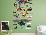 Large Aviation Wall Murals Fathead Disney Planes Fire and Rescue Collection Real Big
