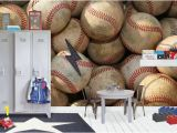 Large Baseball Wall Murals High Quality Removable Peel and Stick Self Adhesive