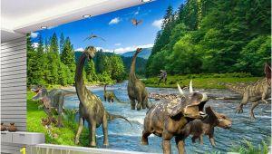 Large Dinosaur Wall Mural Pre 3d Fantasy Mural Wallpaper Jurassic Dinosaur Era Mural Para Ni±os Sala De Estar sofá Dormitorio Tv Tel³n De Fondo Mural De Pared Papel De