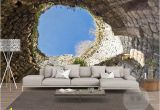 Large Murals for Walls the Hole Wall Mural Wallpaper 3 D Sitting Room the Bedroom Tv