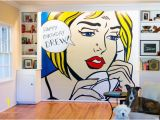 Large Outdoor Wall Murals Diy Wall Pop Art Diy and Craft Projects Pinterest