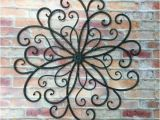 Large Outdoor Wall Murals Outdoor Metal Wall Art Metal Wall Hanging Bohemian Decor Faux
