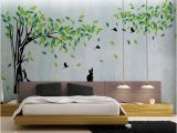 Large Removable Wall Murals Green Tree Wall Sticker Vinyl Living Room Tv Wall Removable Art Decals Home Decor Diy Poster Stickers Vinilos Paredes Wall Stickers Love Wall