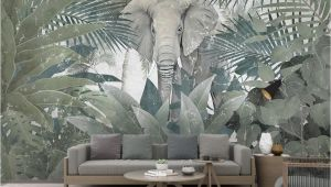 Large Scale Wallpaper Murals 3d Wallpaper Custom Mural Landscape nordic Tropical Plant