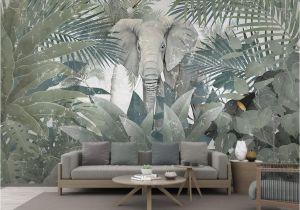 Large Scale Wallpaper Murals 3d Wallpaper Custom Mural Landscape nordic Tropical Plant