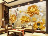Large Scale Wallpaper Murals Custom Retail 3d Home and Everything Related to Wood Carving Floral