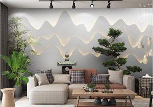 Large Scale Wallpaper Murals Retail 3d Three Dimensional Zen Garden Landscape Background Wall
