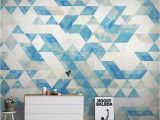 Large Tile Wall Murals Decorative Wallpaper Series north Europe Abstract Geometry