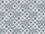 Large Tile Wall Murals Light Grey Portuguese Tile Wallpaper