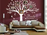 Large Vinyl Wall Murals Amazon Lskoo Family Tree Wall Decal Family Like Branches