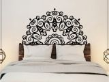 Large Vinyl Wall Murals Headboard Wall Sticker Wall Mural Bed Bedside Mandala Vinyl
