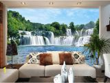 Large Wall Mural Decal 3d Wall Stickers Cliff Water Falls Shower Bathtub Art Wall Mural Floor Decals Creative Design for Home Deco I Hd Wallpapers I Wallpaper Hd From