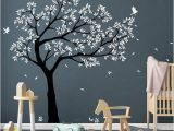 Large Wall Mural Decals Tree Wall Decal Tree Decals Huge Tree Decal Nursery