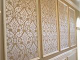 Large Wall Mural Stencils Classic Damask Stencil Home Decor Ideas In 2019