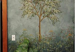 Large Wall Mural Stencils Tree Stencil for Wall Painting Reusable Mural