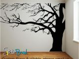 Large Wall Mural Stickers Vinyl Wall Decal Sticker Spooky Tree Ac122 In 2019