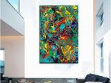 Large Wall Murals Canvas Oversized Canvas Wall Art Contemporary Abstract Prints Epoxy Resin