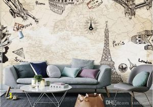 Large Wall Murals Cheap Europe Paris the Eiffel tower Wallpaper Murals Living