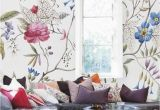 Large Wall Murals Cheap Floral Wallpaper Old Painting Plants Mural Self Adhesive