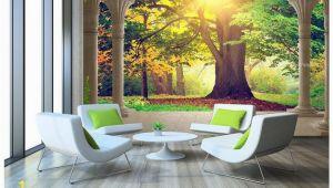 Large Wall Murals for Sale High End Custom 3d Wall Murals Wallpaper Beauty Roman Column Woods