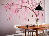 Large Wall Murals Trees Dining Room Wall Decoration Hallway Tree Decals Dining area Tree