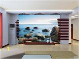 Large Wallpaper Feature Wall Murals 3d Searock 627 Wallpaper Wall Murals Self Adhesive Removable Wallpaper