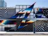 Las Vegas Strip Wall Mural Buildings Be E Canvases In Las Vegas Explosion Of Murals