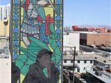 "Las Vegas Wall Mural Etam Cru Bezt ""the Sleeping Knight"" Las Vegas Usa"